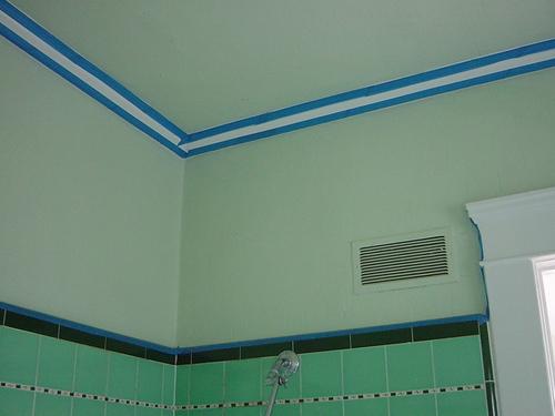 Bathroom - NW corner, masked