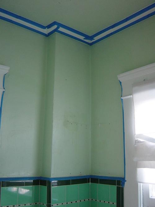 Bathroom - NE corner, masked