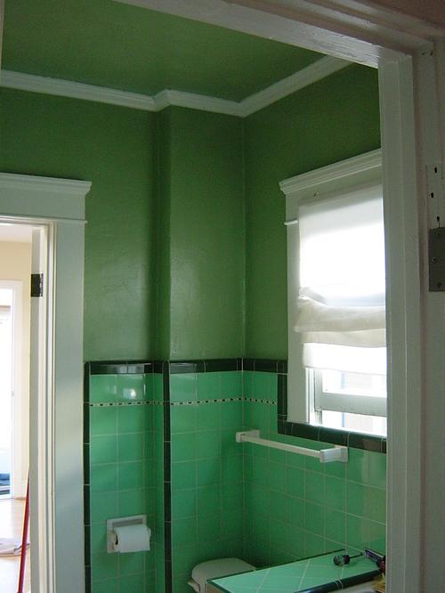 Bathroom - NE corner, painted