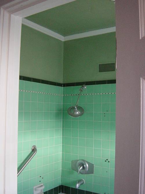 Bathroom - NW corner, painted