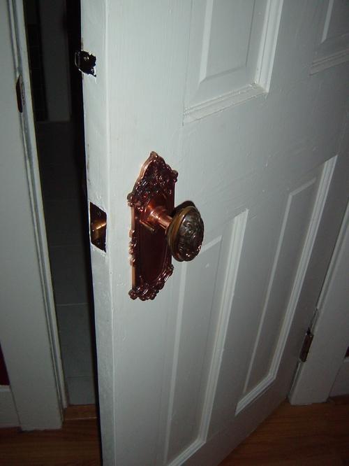 Bathroom Door South