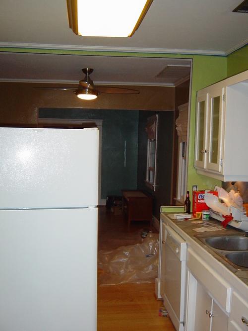 Kitchen - South view