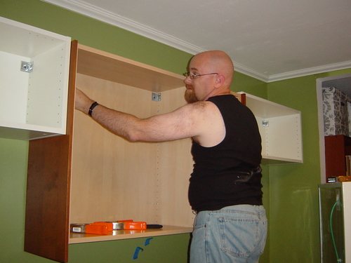 Hanging wall cabinets