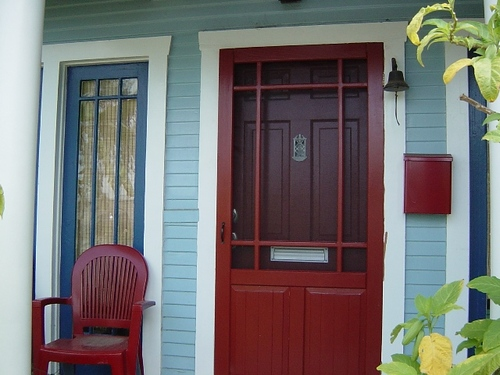 Front Screen Door